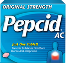 Original Strength PEPCID® AC